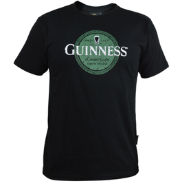MISC NOVELTY GUINNESS GREEN CELTIC LABEL SHIRT