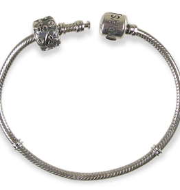 MISC NOVELTY CLEARANCE - TARA'S DIARY BRACELET WITH STOPPER BEAD - FINAL SALE