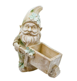 "GARDEN ""WHEELING FOR GOLD"" GARDEN PLANTER"