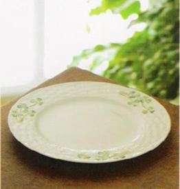PLATES, TRAYS & DISHES BELLEEK SHAMROCK SIDE PLATE