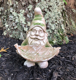 "GARDEN ""FOR THE BIRDS"" GARDEN LEPRECHAUN"
