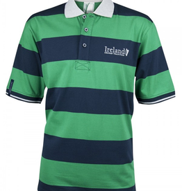 MISC NOVELTY CROKER HARP STRIPE POLO SHIRT