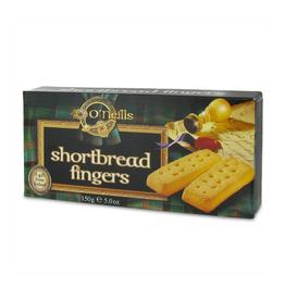 COOKIES & BISCUITS O'NEILLS SHORTBREAD FINGERS (150g)