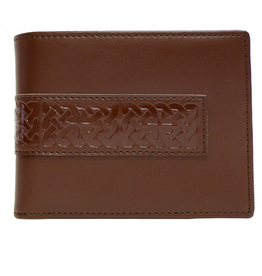ACCESSORIES BOOK of KELLS CELTIC LEATHER WALLET - Brown