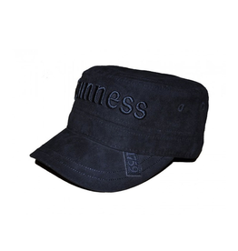 ACCESSORIES GUINNESS BLACK SUEDE EFFECT CADET CAP
