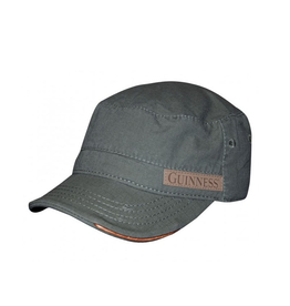 ACCESSORIES GUINNESS MILITARY GREEN CADET CAP