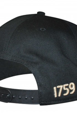 CAPS & HATS GUINNESS BLACK & CREAM FLAT BRIM BASEBALL CAP