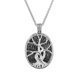PENDANTS & NECKLACES KEITH JACK STERLING 4-in-1 TREE OF LIFE PENDANT with 22K ACCENTS