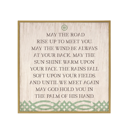 PLAQUES & GIFTS SQUARE IRISH BLESSING WALL PLAQUE