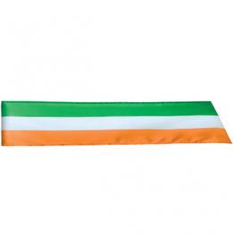 "ST PATRICK'S DAY NOVELTY IRISH FLAG 62"" SASH"