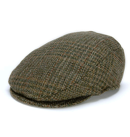 CAPS & HATS TAILORED GREEN CHECK HANNA HAT