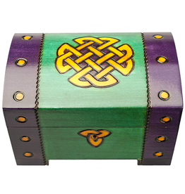 DECOR CELTIC KNOT CHEST BOX