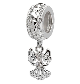 BEADS CLEARANCE - ORIGINS DROP ANGEL BEAD with CRYSTAL - FINAL SALE