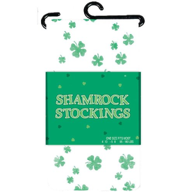ST PATRICK'S DAY NOVELTY SHAMROCK STOCKINGS