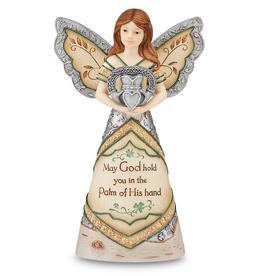 ANGELS IRISH ANGEL HOLDING CLADDAGH