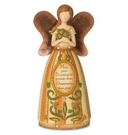 ANGELS IRISH ANGEL HOLDING SHAMROCK