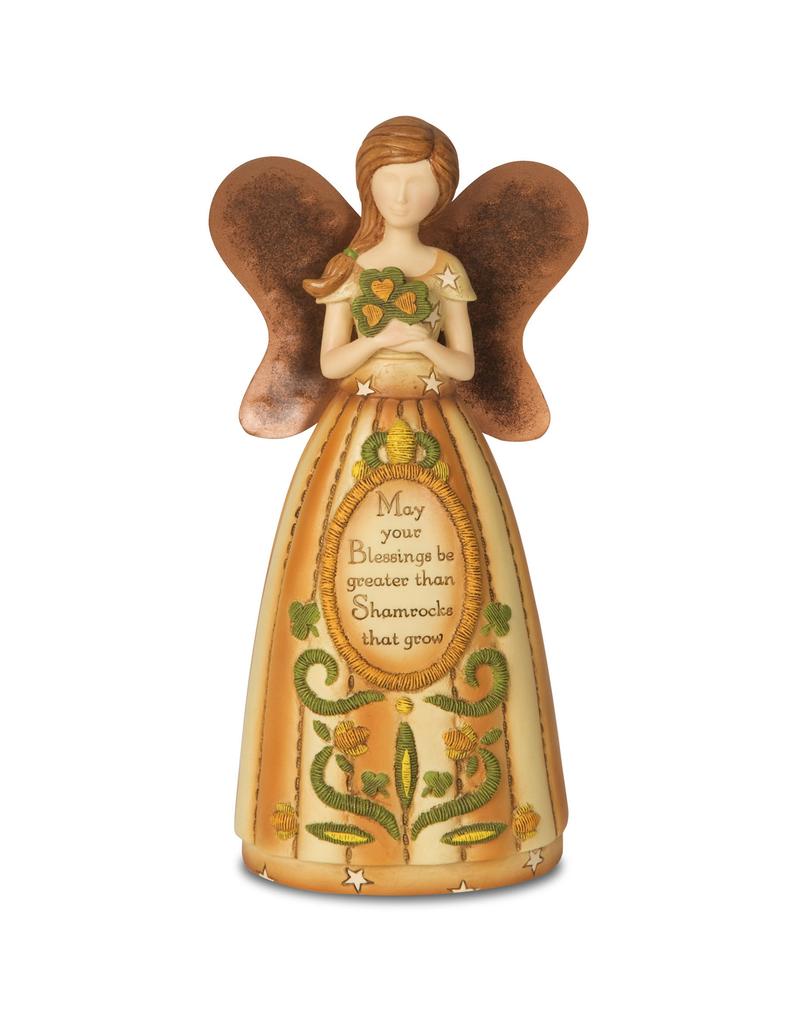 ANGELS IRISH ANGEL HOLDING SHAMROCK