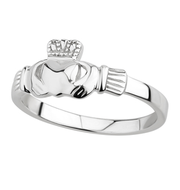 MISC NOVELTY ACARA SILVER CLADDAGH RING
