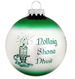 ORNAMENTS IRISH CHRISTMAS CUSTOMS ORNAMENT