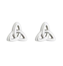 EARRINGS ACARA SILVER TRINITY STUD EARRINGS