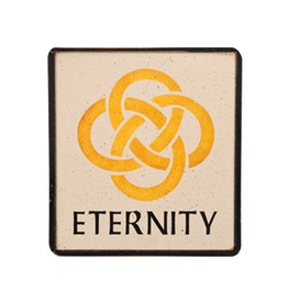 PLAQUES & GIFTS ETERNITY CELTIC KNOT WOODEN SIGN