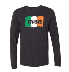 SHIRTS STRAIGHT UP IRISH LI LONG SLEEVE SHIRT