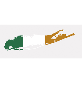 MISC NOVELTY CARLETON LONG ISLAND IRISH DECAL