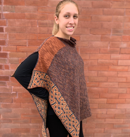 CAPES & RUANAS BILL BABER BALLATER SHAWL - Bronze