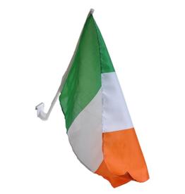 FLAGS & MORE IRELAND 11.5x15 CAR FLAG
