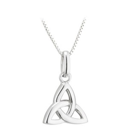 PENDANTS & NECKLACES ACARA SILVER TRINITY PENDANT