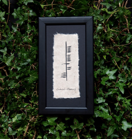 PLAQUES & GIFTS OGHAM WISHES FRAMED ART - Family
