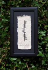 PLAQUES & GIFTS OGHAM WISHES FRAMED ART - Peace