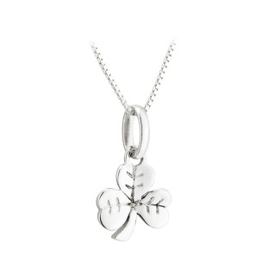 PENDANTS & NECKLACES ACARA SILVER SHAMROCK PENDANT