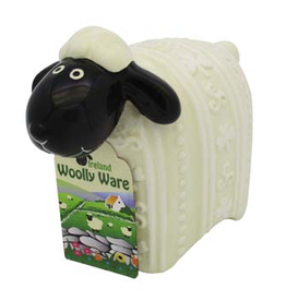 "DECOR ""WOOLLY WARE"" SHEEP FIGURINE"