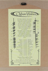 PLAQUES & GIFTS OGHAM WISHES FRAMED ART - Health