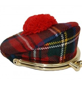 MISC NOVELTY SMALL TAM TARTAN PURSE