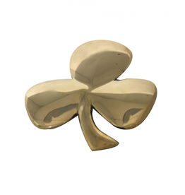 DECOR BRASS SHAMROCK