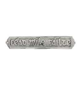 "DECOR ""CEAD MILE FAILTE"" METAL PLAQUE"