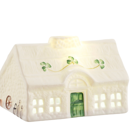 DECOR BELLEEK BLARNEY COTTAGE LED LIGHT