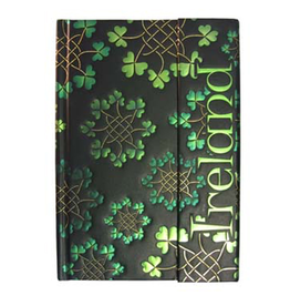 NOVELTY CELTIC NOTEBOOK - SHAMKNOTS