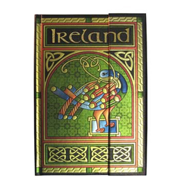 NOVELTY CELTIC NOTEBOOK - CELTIC PEACOCK