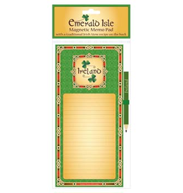 MISC NOVELTY IRELAND FRIDGE MEMO PAD