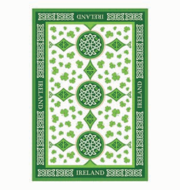 KITCHEN & ACCESSORIES TEA TOWEL - Scattered Shamrocks
