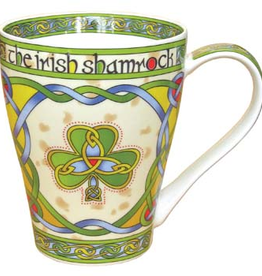 KITCHEN & ACCESSORIES CELTIC WEAVE 'SHAMROCK' MUG
