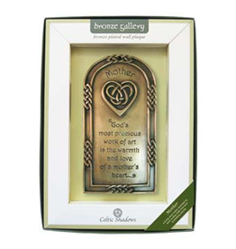 PLAQUES & GIFTS CELTIC BRONZE GALLERY WALL PLAQUE - MOTHER BLESSING