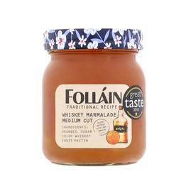 JAMS & SAUCES FOLLAIN ORANGE MARMALADE - Whiskey Medium Cut