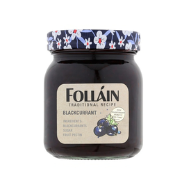 MISC FOODS FOLLAIN JAM - BLACKCURRANT