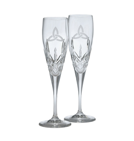 WEDDING GALWAY CRYSTAL FLUTES - TRINITY (2)
