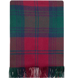 TAPESTRIES, THROWS, ETC. LOCHCARRON LAMBSWOOL LAP BLANKET - LINDSAY