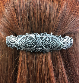 ACCESSORIES MULLINGAR PEWTER CELTIC HAIR BARRETTE